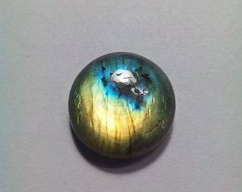 Labradorite Round Shape Cabochon 18 MM