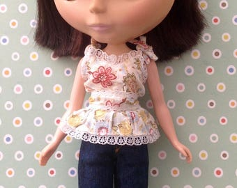 Saturday Afternoon Camisole & Jeans Set * Blythe *