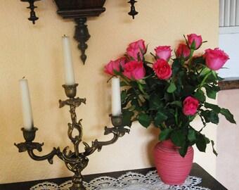 Vase, porcelain, antique pink