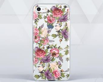Flowers Case for Samsung Galaxy s7 Edge Case Clear iPhone 7 Plus Case Galaxy S7 Case iPhone 5 Case iPhone 6 Plus S6 Edge Case Note 5 c00061