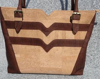 All Cork Tote/Handbag/Shoulder bag/Purse