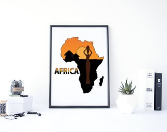 African Wall Decor african wall decor | etsy