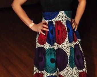 JUANJAYZZ  Collection, Long Maxi skirt, African Print, African Clothing; African Maxi skirt, African Skirt; African Maxi Long Skirt