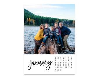 The 2018 Emily Photo Calendar // 5x7