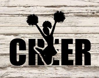 Cheer SVG; cheerleading; cheer; cheerleader svg;