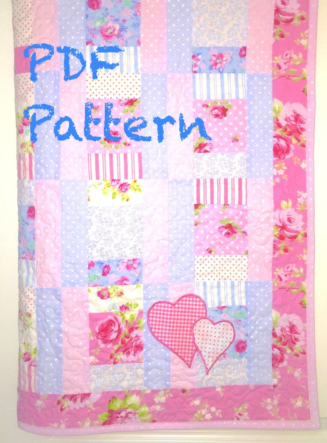 Sweet Baby Girl Quilt Pattern Modern Baby Quilt Pattern