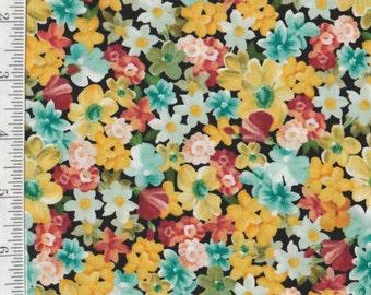 Les Fleurs - Per Yd - Quilting Treasures - Small Floral