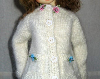 SALE Hand knitted set for Kaye Wiggs MSD