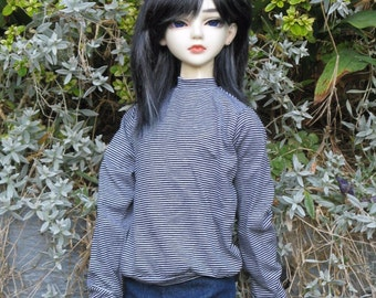 Jersey-sweater for BJD doll in SD, 1/3 size