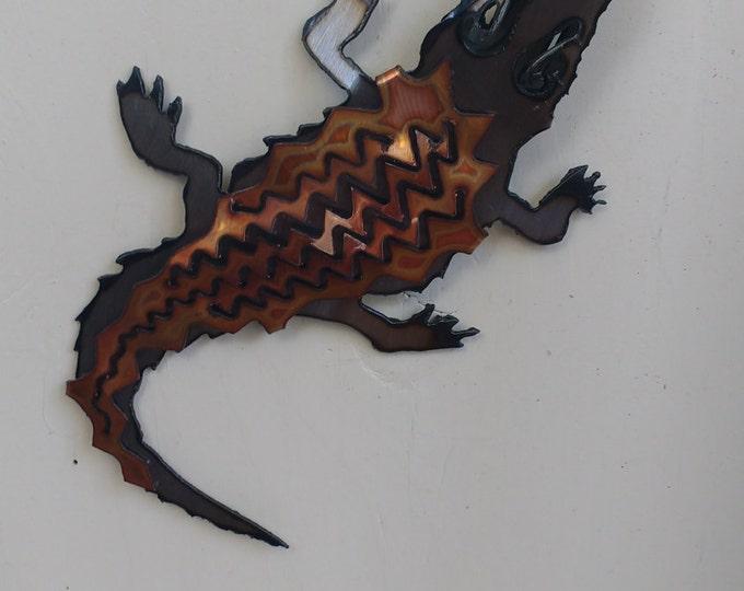 Alligator Mini Sculpture