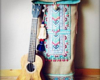 Unique Boho Ukulele Bag - Travel in style baby