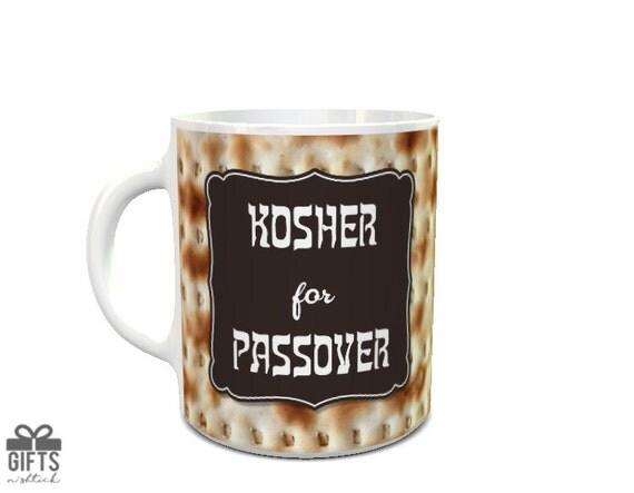 Passover Mug Jewish Mug Passover Gift Kosher Matzoh