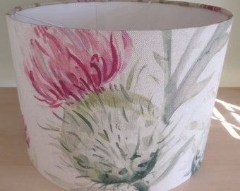 Thistle Glen Summer by Voyage Decoration 30cm drum lampshade