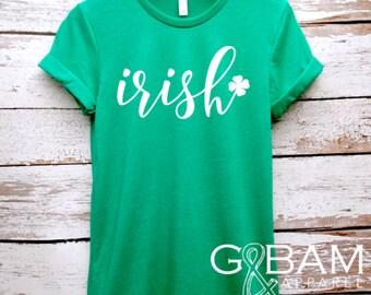 Irish Boyfriend Tee / St. Patricks day shirt /  Green Shirt