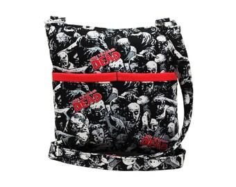 The Walking Dead Crossbody Bag // Sling Bag // Crossbody Purse // Shoulder Bag // Hipster