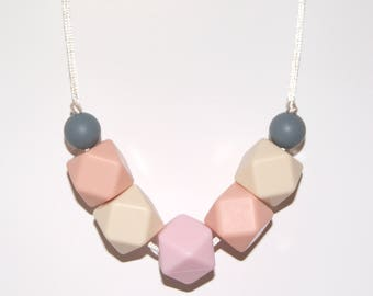 Necklace for Mum, Teething necklace, Style #195, Mummy Jewellery, Necklace, Nursing necklace, Baby Shower gift