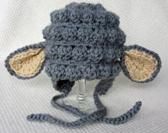 Crochet lamb hat, baby lamb hat, toddler easter hat, Easter gift, baby easter hat, kids easter gift, crochet baby hat, lamb baby shower