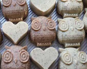 Owl Shaped Goat's Milk Soap