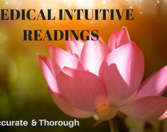2 Questions Medical Intuitive Readings-Hand-Made-Psychic, Reading Clairvoyant, Intuitive Reading, Mystical Metaphysical
