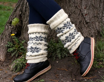 Knit leg warmers, Legwarmers, Wool leg warmers, Ankle warmers, Leg warmers womens, Boot warmers, Boot toppers, Boot cuffs, Gift for her