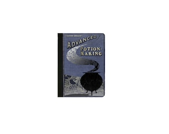 IPad Mini 1/2/3/4 Faux Leather Folio Case / Cover IPAD Mini 2 Case IPad Mini 3 case Mini 4 Case Harry Potter - Potion Making Book Ipad Case