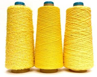 SAORI Cotton Yarn on Cone - Set of Three - Weaving Arts Austin