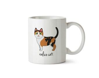 Calico Cat Mug (girl)
