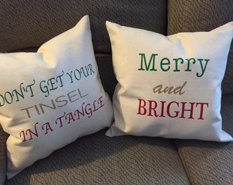 Holiday Pillow Cover Set