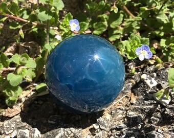 Stunning Blue Calcite Sphere - Argentina