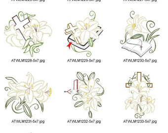 """Shop """"easter embroidery designs"""" in Fiber & Textile Art Supplies"""