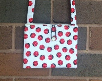 Ladybugs cross-body bag