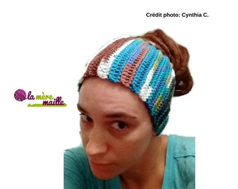 Headband multi-purpose: ear / neck / tuque (teenager and adult)