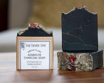 Activated Charcoal Soap // Charcoal Soap // Detox Soap // Black Soap // Handmade Soap // Nag Champa // Homemade Soap // Vegan Soap