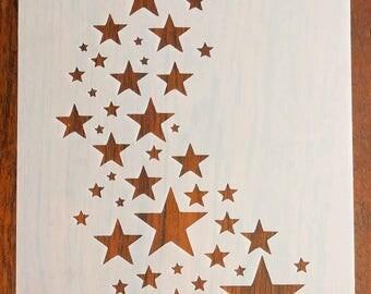Star Stencil Mask Reusable Mylar Sheet for Arts & Crafts