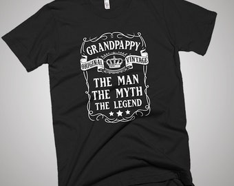 Grandpappy the Man the Myth the Legend Father T-Shirt