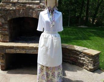 Custom Pioneer Trek Cultural Celebration Clothing: Skirts, Aprons, and Bonnets