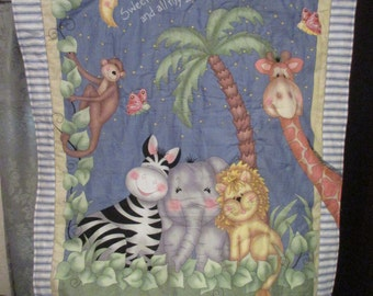 Animals from the Zoo Quilt