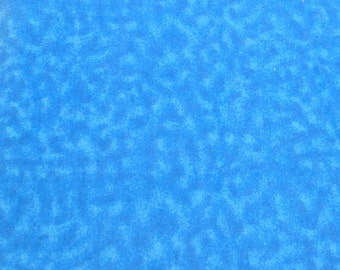 Blue Shaded Cotton Flannel Fabric