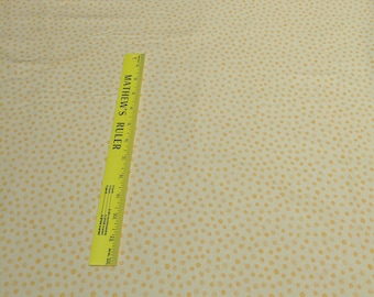Galaxy Dot-Yellow Cotton Fabric from Susy Bee