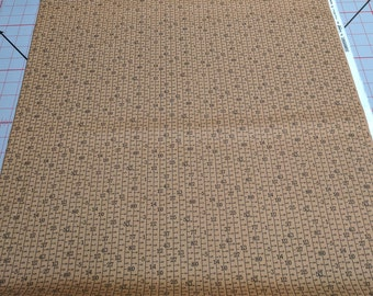 Elementary-Brown Cotton Fabric from Moda