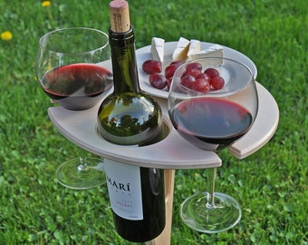 Outdoor Wine Table in Birch- As seen on the Today Show
