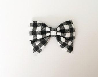 BW Gingham // Mini Sailor