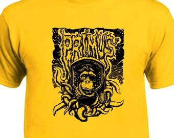 Primus Monkey Tentacles T-Shirt Color Options