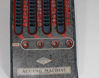 1950's Tin Toy Adding Machine by Wolverine Supply  (1023)