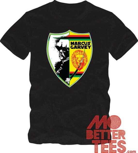 Marcus Garvey shield Black T-Shirt