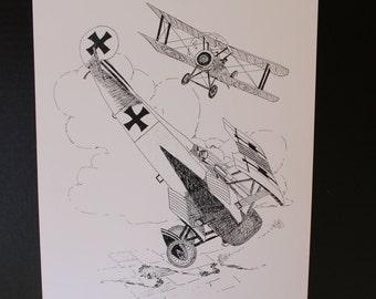 World War I Dog Fight