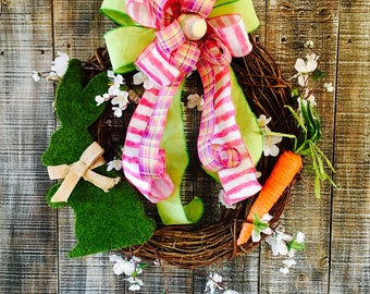 Easter wreath,Easter wreaths,spring wreath,grapevine Easter wreath