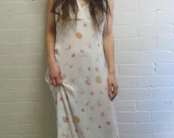 White Seashell Dress