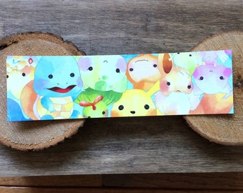 Poke Character Bookmark - Colorful