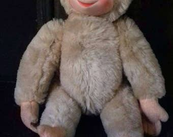 Vintage Schuco Blonde Monkey Toy